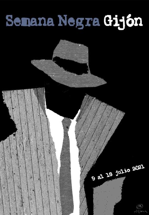 La cita de la XXXIV Semana Negra de Gijón es del 9 al 18 de julio de 2021